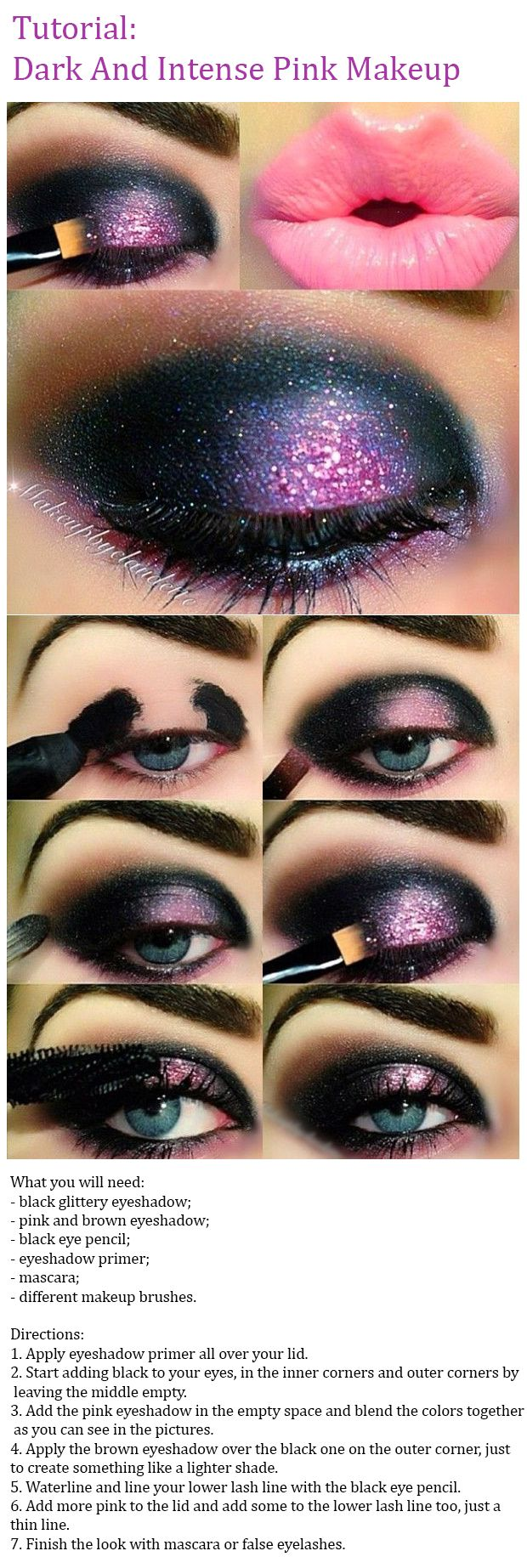 Dark And Intense Pink Makeup Tutorial | Step-By-Step Tutorial I Check out this bold and amazing pink eye makeup