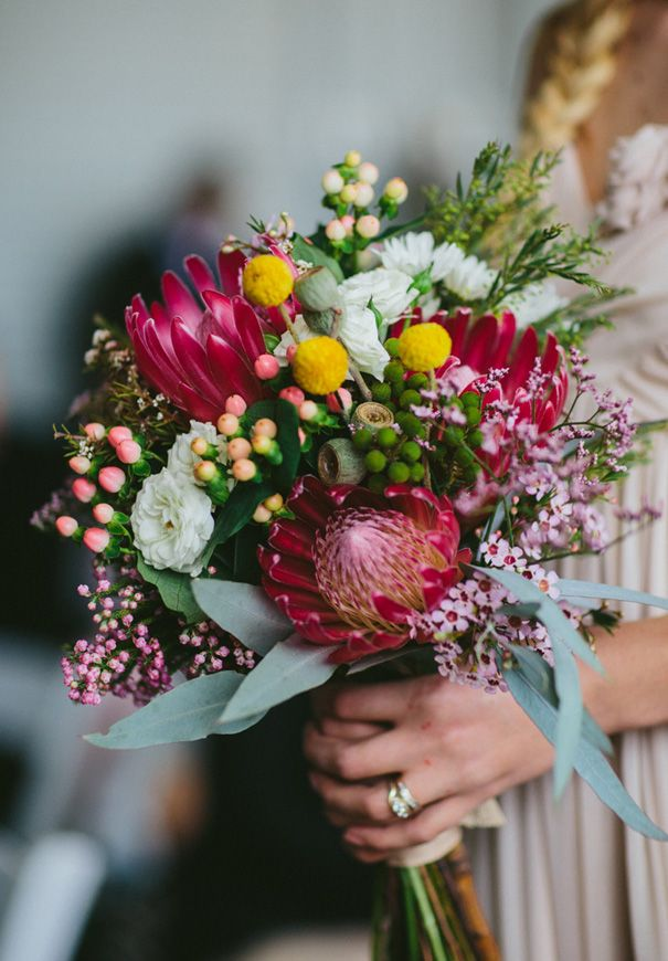 Bouquets will be similar however less pinks and more whites.