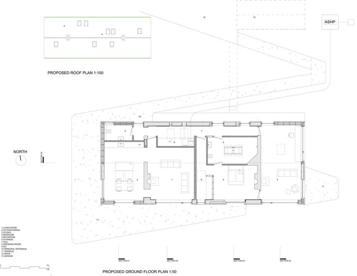 91 best architectural drawings images on pinterest architecture plan of blakeburn cottage by architects in roxburghshire in scotland malvernweather Gallery