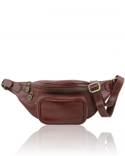 TL141305 Leather Fanny Pack