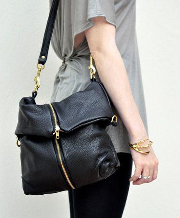 Deadly Ponies foldover bag: BonaDrag
