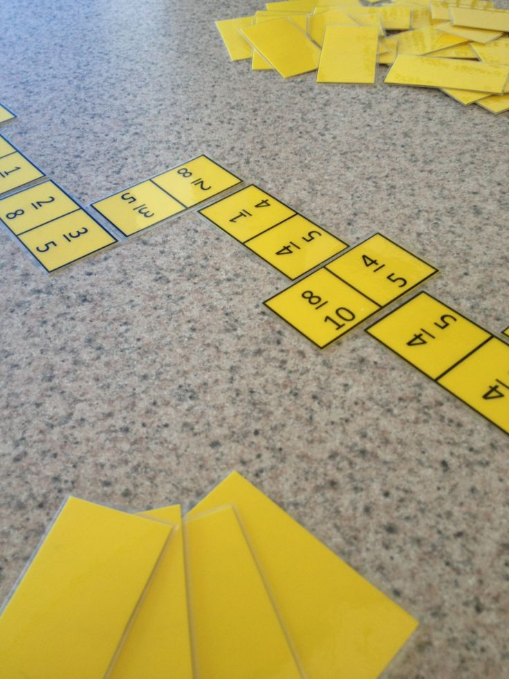 Equivalent Fractions Dominoes