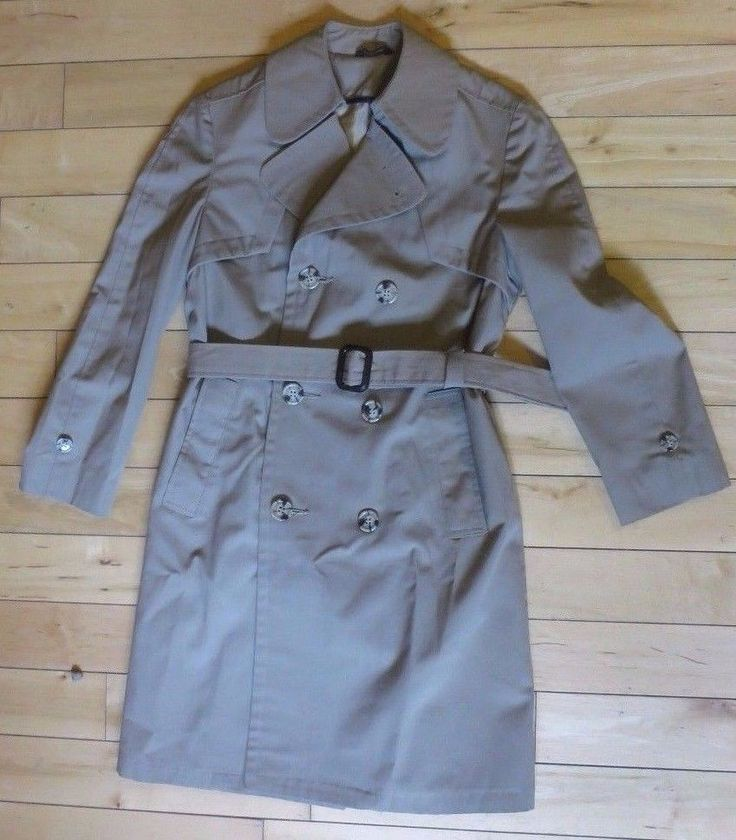 SAKS FIFTH AVENUE Kids Girls Long Trench Coat Jacket Size 12 Beige Tan Khaki #SaksFifthAvenue #BasicTrenchCoat #DressyEverydayHoliday