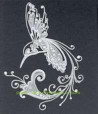 Pergamano: Crafts Parchment Vellum, Pergamano Parch, En Pergamano, Art Hummingbirds, A Tattoo, Parchment Pergamano, Sweet Tattoo, Cool Tattoo, Parchment Crafts