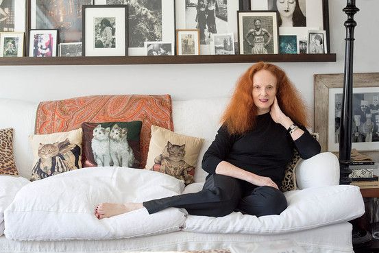 coolest cat lady ever // Grace Coddington on Nudes and Being a Hoarder - WSJ.com