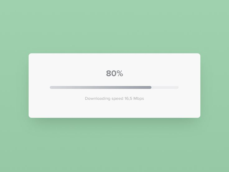 Progress Bar - Day 86 #dailyui