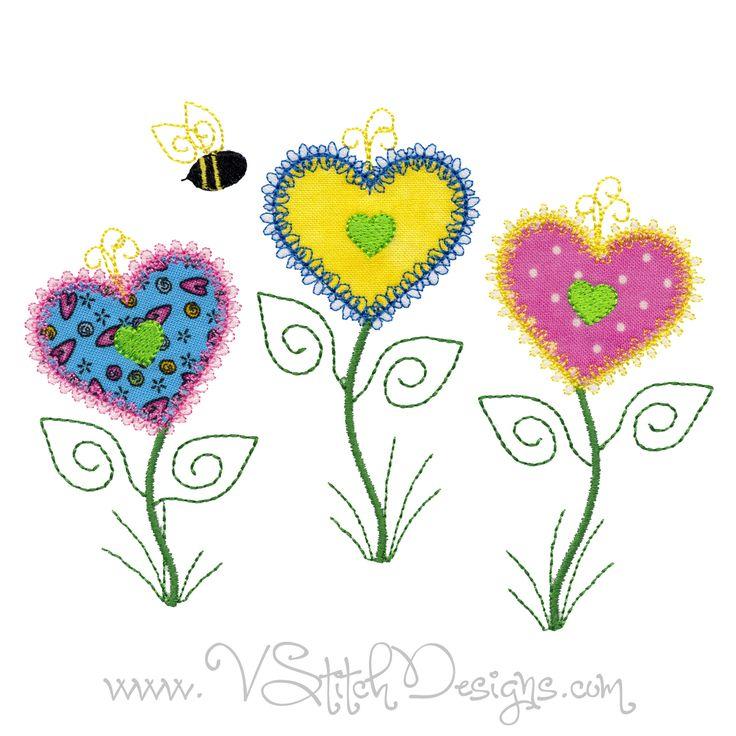 490 best Machine Embroidery, Applique & Quilt by V-Stitch ...