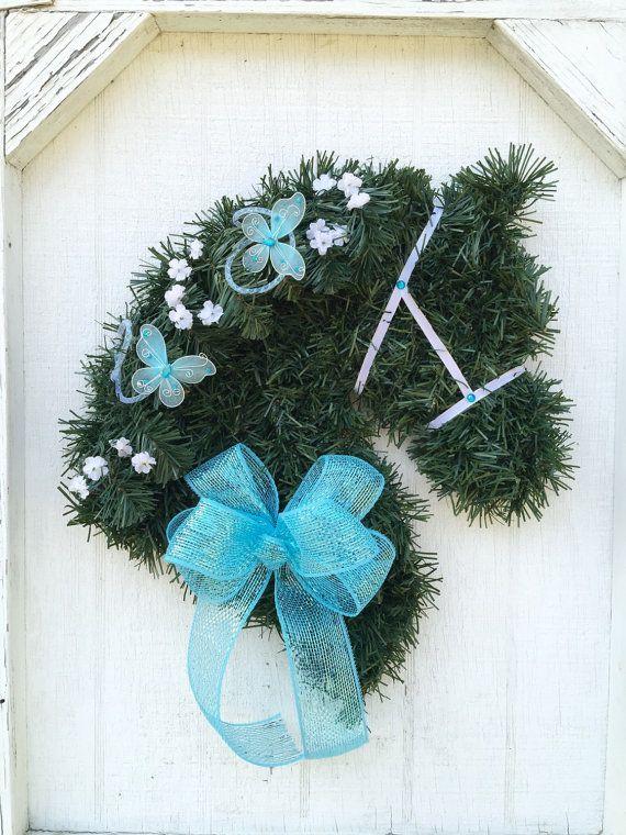 Best 103 Horse Head Wreath\'s images on Pinterest | Flower head ...
