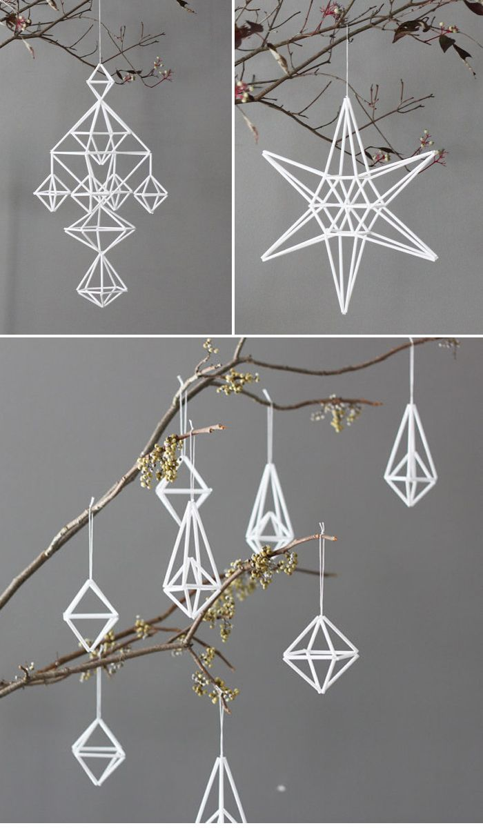 geometric-shape ornaments