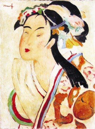 Nicolae Tonitza (Romanian: 1886-1940) | The Japanese Woman
