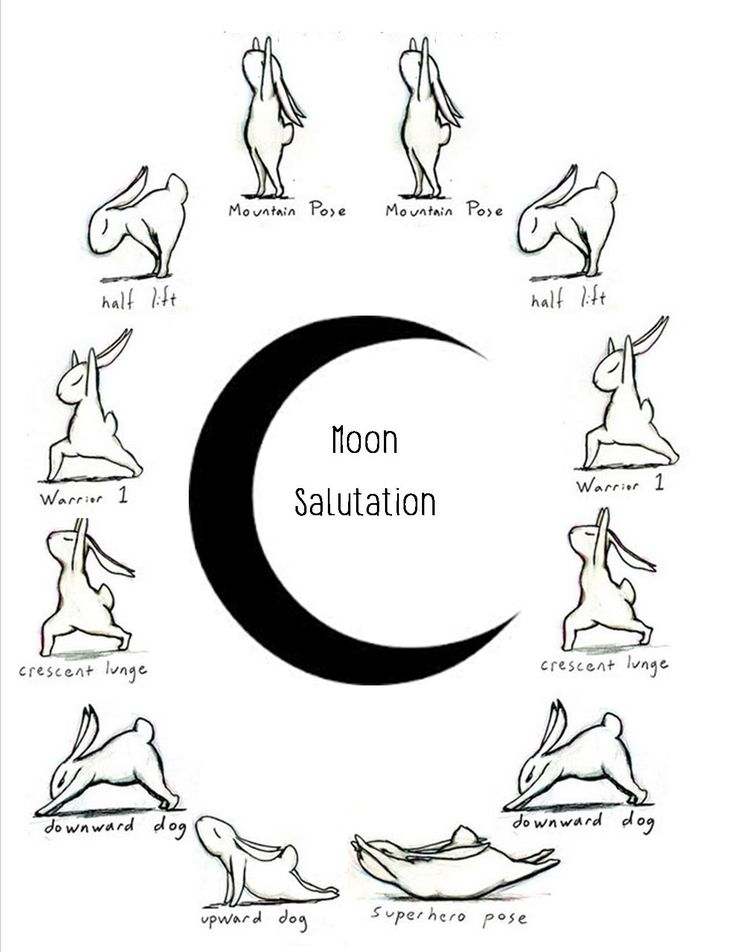 Moon Salutation Art: Brian Russo Goes Clockwise