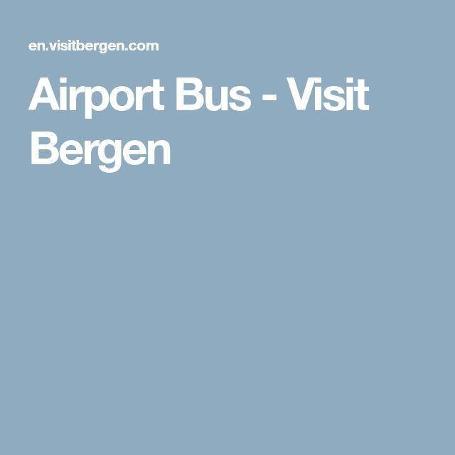Airport Bus - Visit Bergen