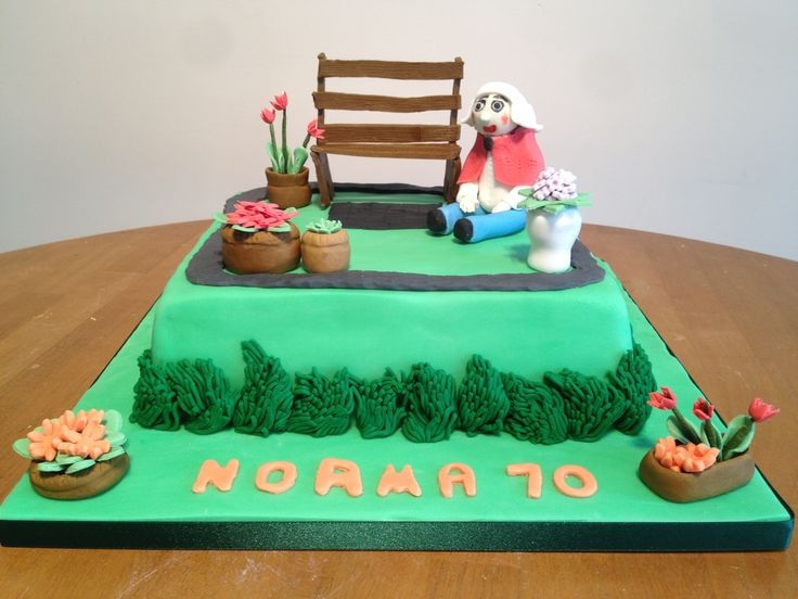 images of cakes with garden theme - photo #26