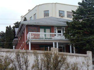 Oliver House: Bisbee, Arizona: In the late 1800's the wife of a local policeman was having an affair with Nathan Anderson, a mining employee. Her husband found out about it, went to the house and killed the both of them...