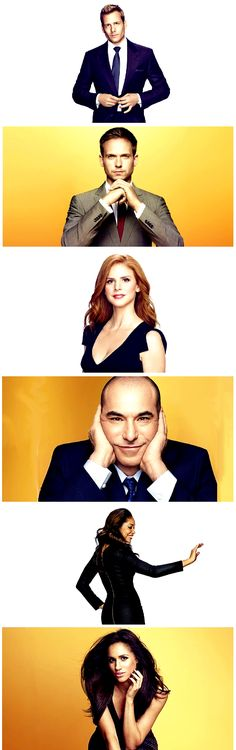 Suits!!! This one of the most enjoyable TV show ever! Love all the characters...my faves are Harvey, Louis and Donna.
