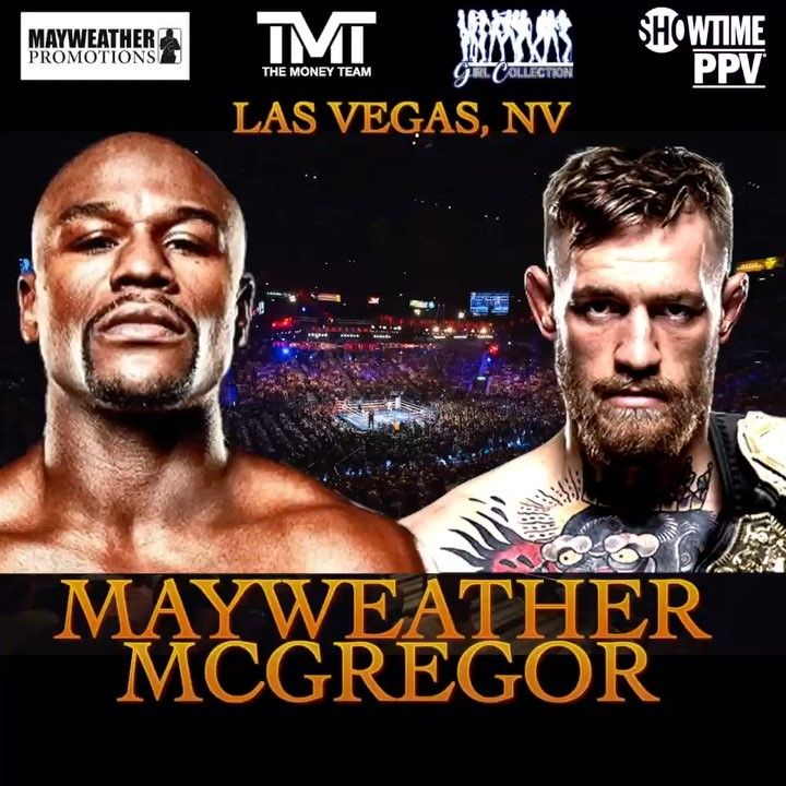 Conor McGregor vs. Floyd Mayweather official for Aug. 26 in Las Vegas - MMA Maxim