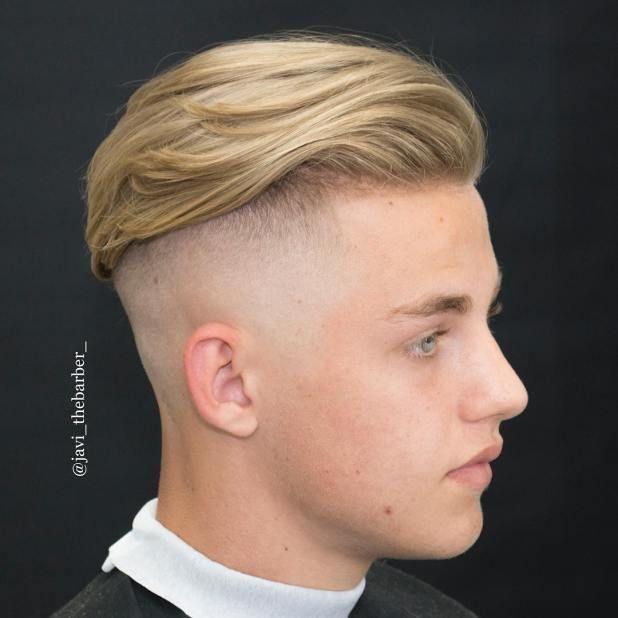 Sidecut jungen frisuren Frisuren für