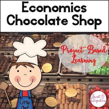 This is a great economics and Project Based Learning unit for any time of the year; everyone loves chocolate! This is the perfect economics unit for primary students with a yummy Chocolate Shop theme. Students can work collaboratively as they create their