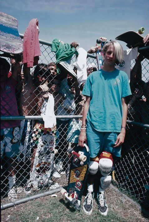 tony hawk when he was a youngin'