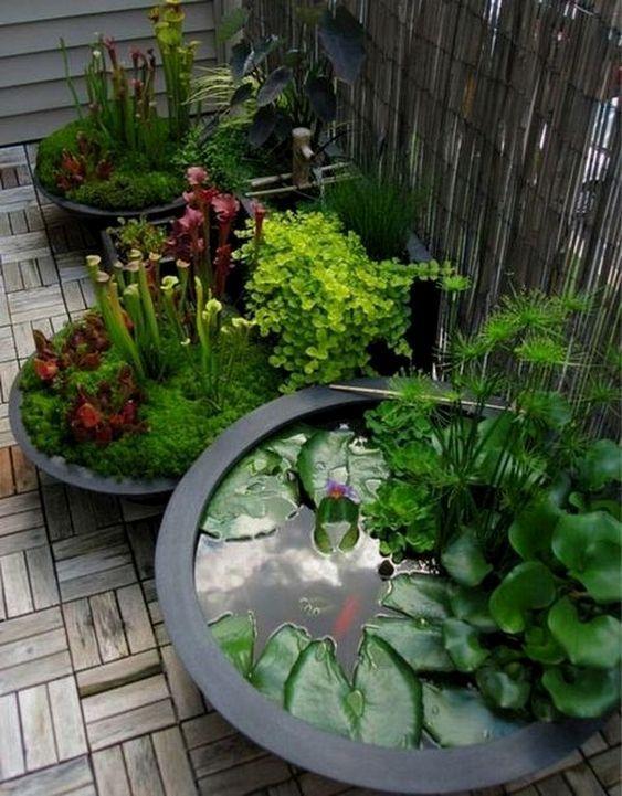 Uma pequena sala de jardim não sugere que você não pode ter o jardim desejado. Aqui um   – Garten Dekoration