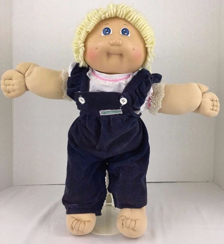 Cabbage Patch Kid Doll Vintage 1985 Signed Xavier Roberts Original AppalachianOK #CabbagePatchKids #DollswithClothingAccessories