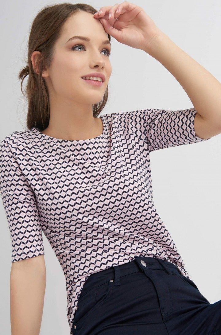 cb47734b31 Felső geometrikus mintával | ORSAY | Divat | Tops, Fashion és Women