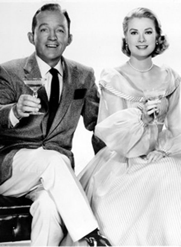 It doesn't get much classier than this! Bing Crosby and Grace Kelly