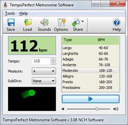 Vintage Taktmesser Software kostenlos herunterladen um Tempo beizubehalten Diese elektronische Metronom Freeware wurde von Musikern f r Musiker entwickelt