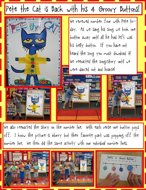 Free Math Activity with Pete the Cat and His 4 Groovy Buttons