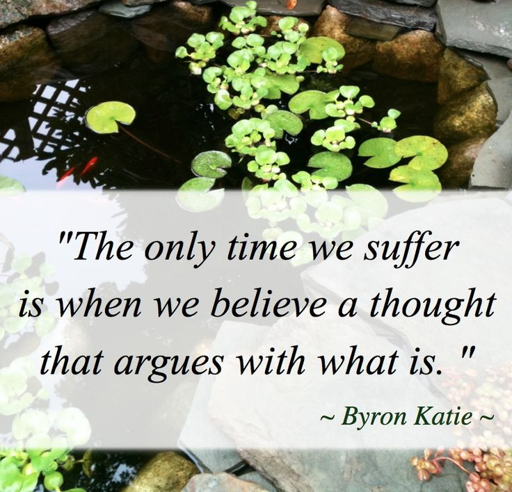 Love The Work Of Byron Katie