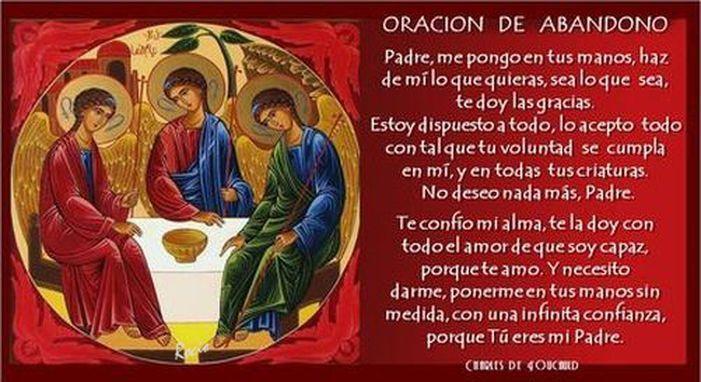 Oracion de Abandono de Charles de F.