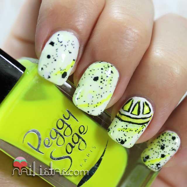 Mejores 11 imágenes de Black nails en Pinterest | Uñas negras, Uñas ...