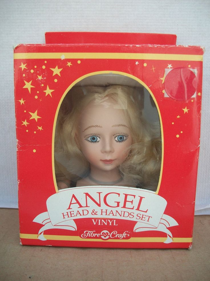 Boxed Fibre Craft Angel Head And Hands Set Crafts Hands