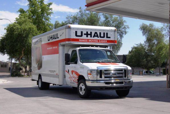 20ft U Haul Truck U Haul And Storage Pinterest Trucks