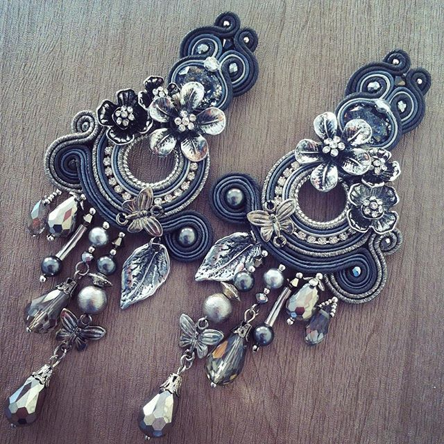 Botticelli, A.del  unique soutache embroidered jewels