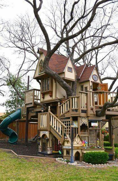 Coolest treehouse