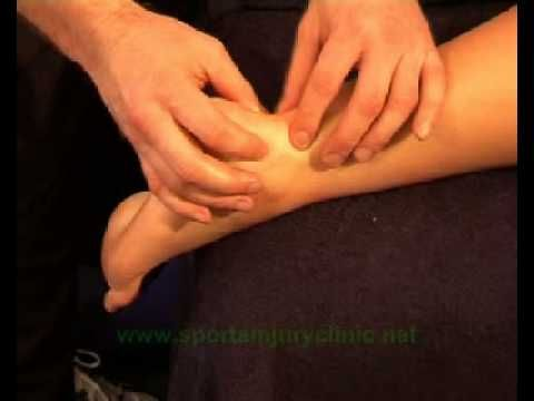 Sports massage for the Achilles Tendon