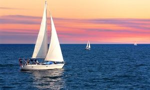 Groupon - $ 64 for BYOB Sunset Discover Sail Session for Two from Island Bound Adventures ($140 Value) in Scott's Landing Marina. Groupon deal price: $64