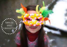 julie ♥ adore: DIY: masque de carnaval