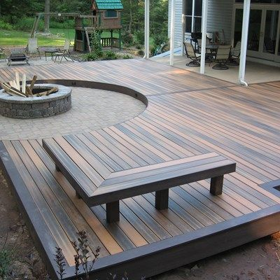 Miscellaneous decks of all size and shapes using a variety of materials - 25+ Best Ideas About Deck Plans On Pinterest Deck Design