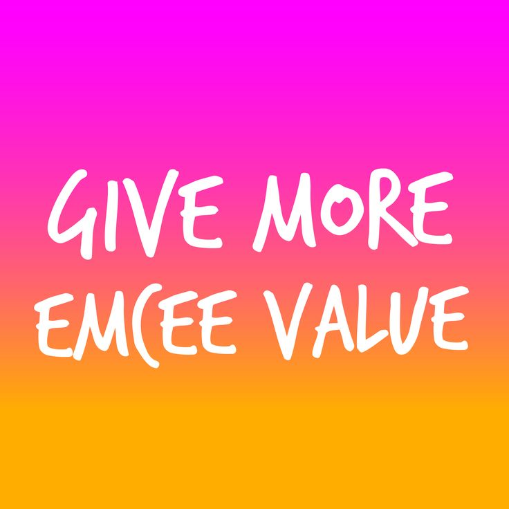 Quick Tip on providing more value at your MC assignments. http://www.expertmc.com