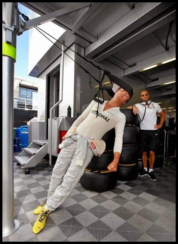 """Training of F1 drivers"" Nico Rosberg"