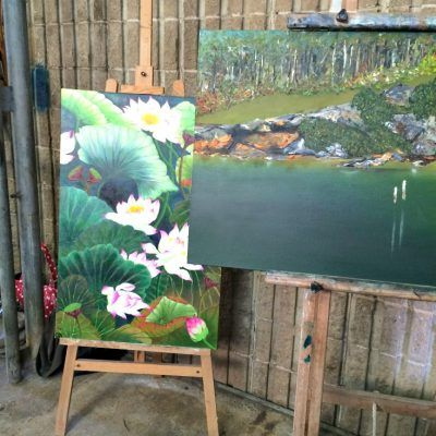 Rustic Luxe Studio Mittagong Southern Highlands NSW opening artwork 2