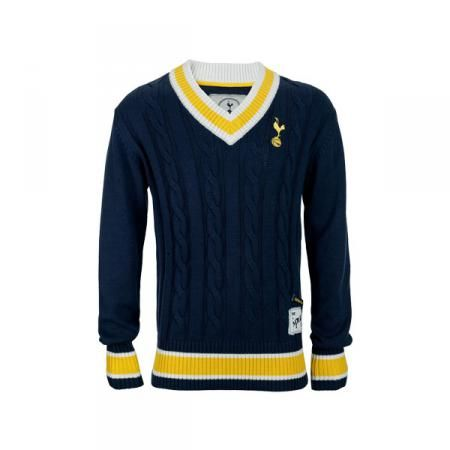 Spurs Cable Knit Sweater | Spurs Shop: Tottenham Hotspur Shop