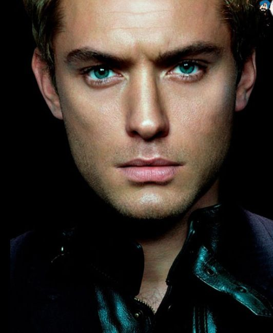 Jude Law. I swear he has the most gorgeous eyes...                                                                                                                                                                                 Plus