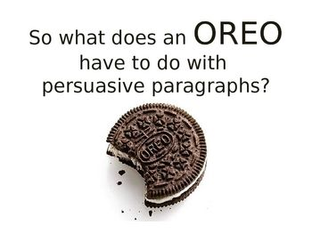 Paragraph of the Week PowerPoint - Persuasive Paragraphs
