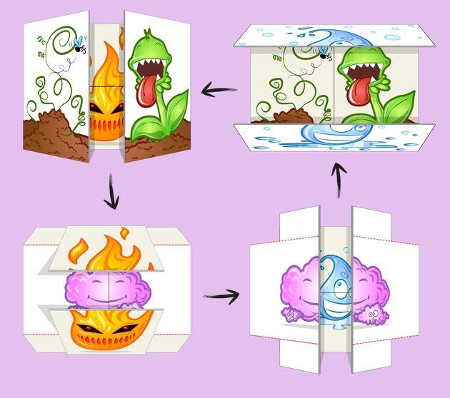 Activité : La carte infinie des 4 éléments. Matériel nécessaireDeux feuilles de papierUne paire de ciseauxDu scotch double-face ou de la colle en ...