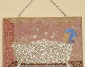 """Trying out www.lilyshop.com/store/hollenay as a """"shopkeeper.""""  Here is a mosaic I did back in 08... listed it today to see what happens!"""