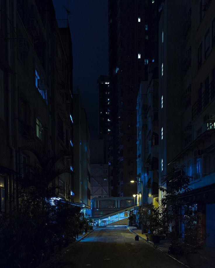 Backstreets of Hong Kong.