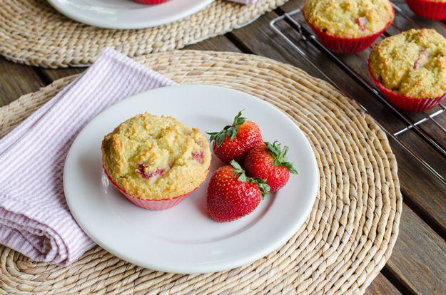 Strawberry Paleo Muffins